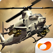 Game GUNSHIP BATTLE : Helicopter 3D apk for kindle fire