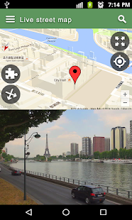 Street View Live Map Satellite Earth Navigation Android Apps - Live street maps google earth