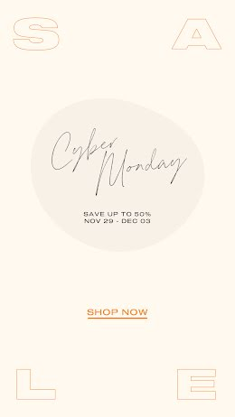 Shop Cyber Monday Now - Facebook Story item