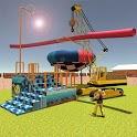 Build Water Theme Park: 3D Construction Simulator icon