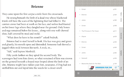 Bookari Ebook Reader Gratuito Screenshot
