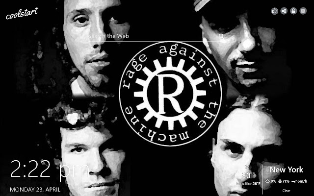 Rage Against the Machine HD Wallpapers Theme