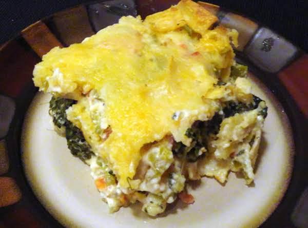 Dewillia's Chicken Tortilla Spinach Casserole