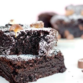 Chocolate Rolo Brownies