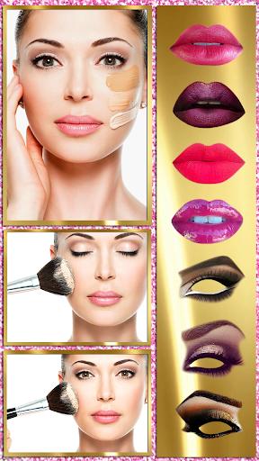 Makeup Styles Photo Montage: Virtual Beauty Salon 1.2 screenshots 1