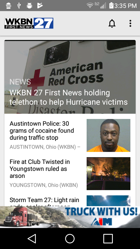 WKBN 27 First News- screenshot