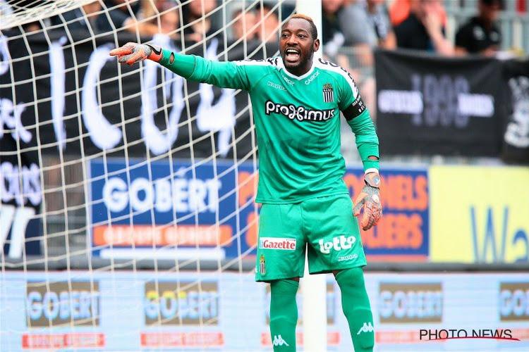 Parfait Mandanda fait son retour au Sporting de Charleroi