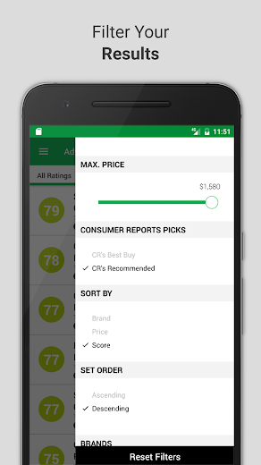 Screenshot 3 for Consumer Reports's Android app'