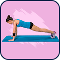 Abs workout: how to lose belly fat with planks icon