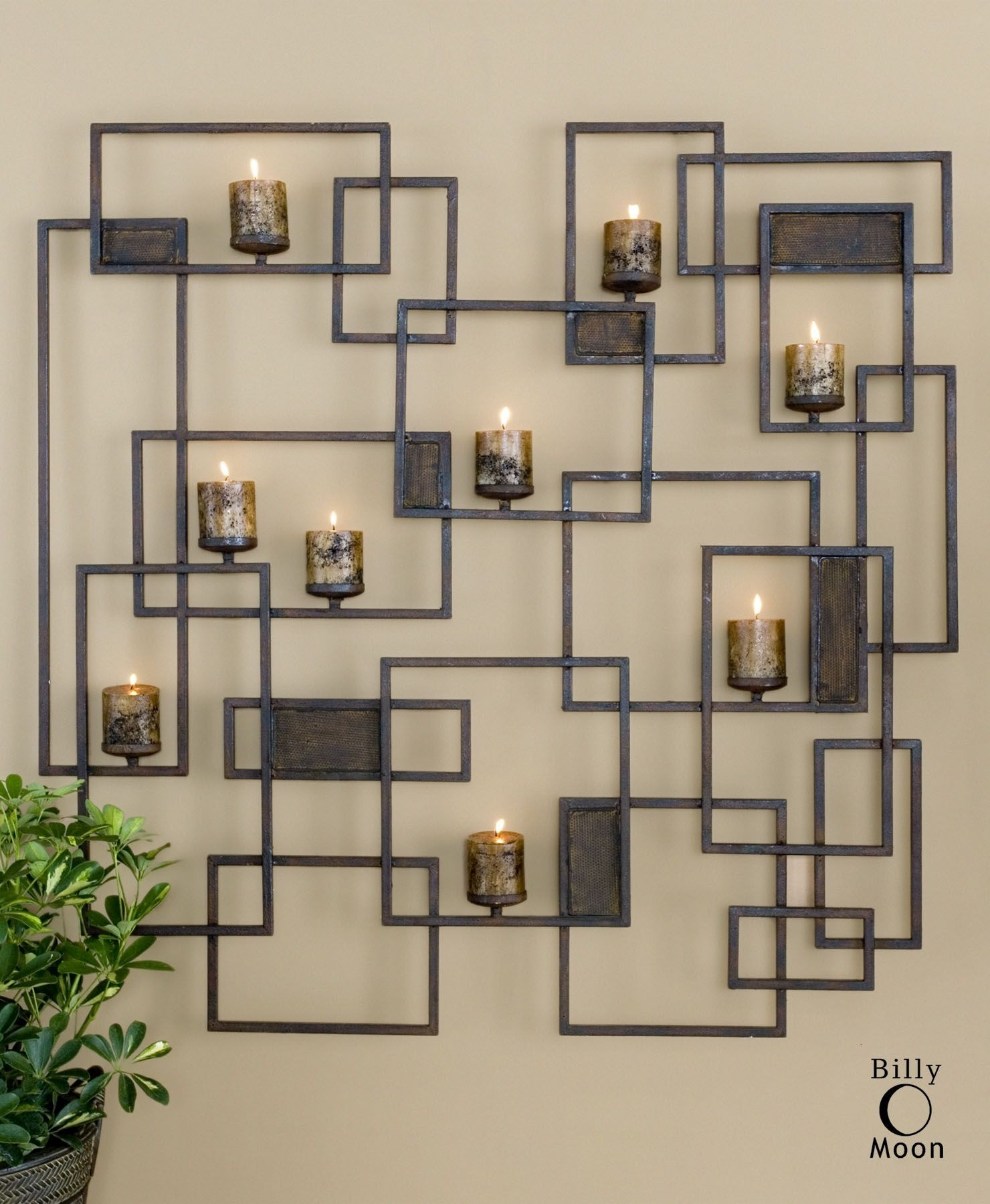Christmas Wall Candle Holder Ideas