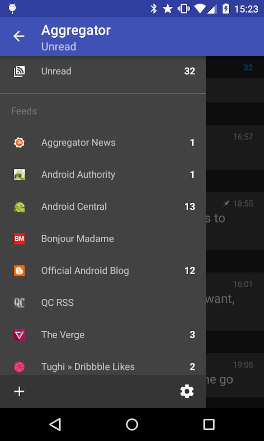 Aggregator | RSS News Reader- screenshot