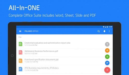 Polaris Office - Word, Docs, Sheets + PDF Reader Screenshot