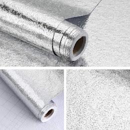 Folie de aluminiu adeziva argintiu 61 x 500 cm