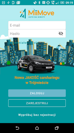MiiMove carsharing 1.3.74 screenshots 1