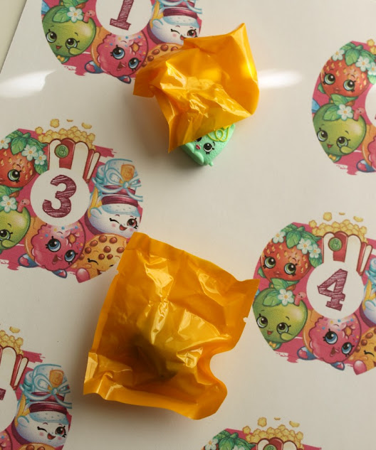 Download my free printable Shopkins Advent Calendar Stickers to make a DIY advent calendar
