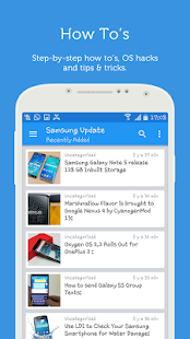 Update Android Samsung Version- screenshot thumbnail