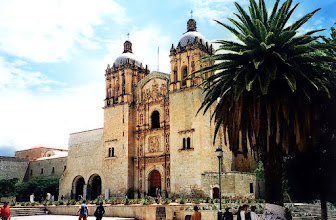 Photo: Oaxaca, kościół Santo Domingo / Santo Domingo church