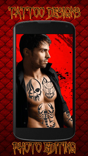 Tattoo Designs Photo Editing