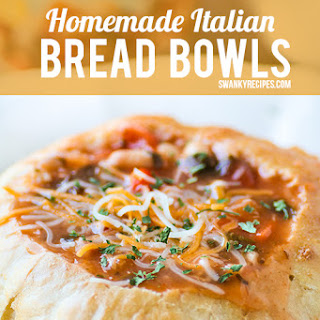 Homemade Italian Bread Bowls