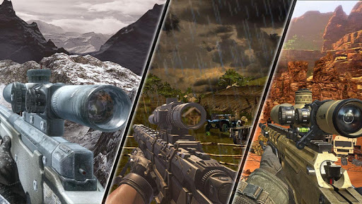 Mountain Sniper Shooting: 3D FPS  screenshots 18