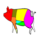 Cuts of meat icon