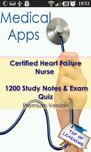 CHFN Cert. Heart Failure Nurse