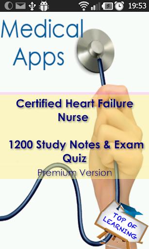 CHFN Cert. Heart Failure Nurse