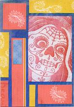 Photo: Wenchkin's Mail Art 366 - Day 271 - Card 271a