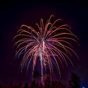 And the rocket's red glare by Jeffrey Genova - Public Holidays July 4th ( freedom, fourth of july, fireworks, boom, night, nikon,  )