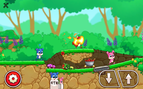 Fun Run 3 - Multiplayer Games Capture d'écran