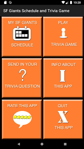 Schedule and Trivia Game for SF Giants fans apktram screenshots 1