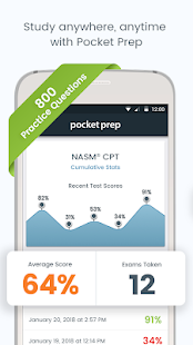 NASM CPT Pocket Prep Screenshot