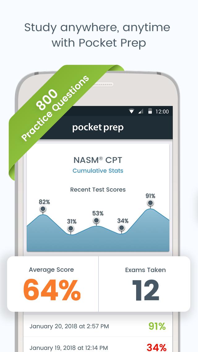 NASM CPT Pocket Prep Screenshot 0