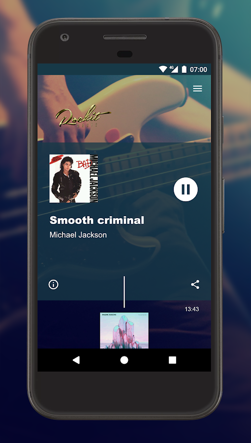 Rockit Radio- screenshot
