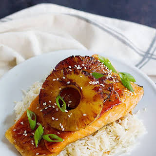 Teriyaki Pineapple Salmon.