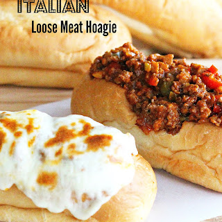 Italian Loose Meat Hoagies.