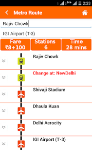 Delhi Metro Map,Fare, Route , DTC Bus Number Guide - Apps on
