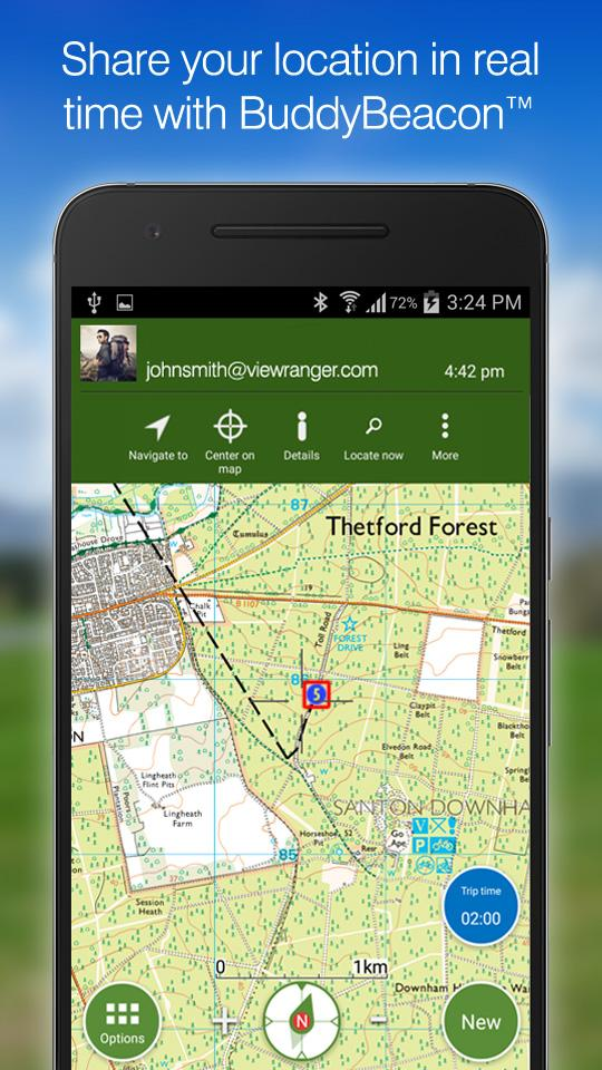ViewRanger GPS - Trails & Maps screenshot #7