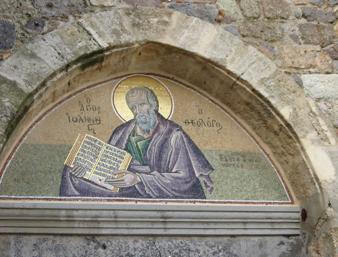 St. John the Theologian over Entrance to Cave of St. John, Patmos