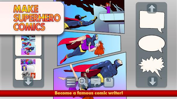 Make Superhero Comics Gratis