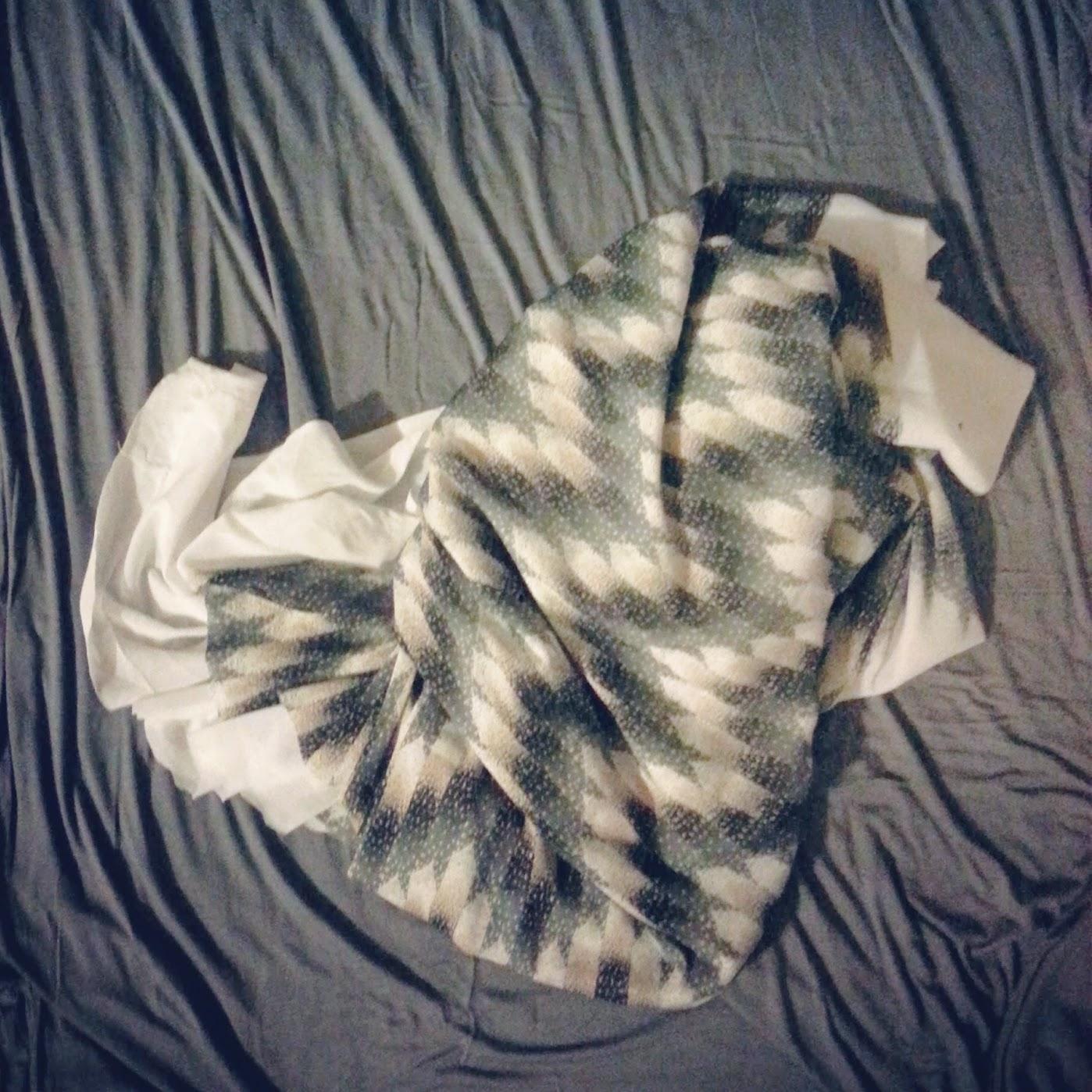 Fabrics for High-Low Circle Skirt Dress - DIY Fashion Garments | fafafoom.com