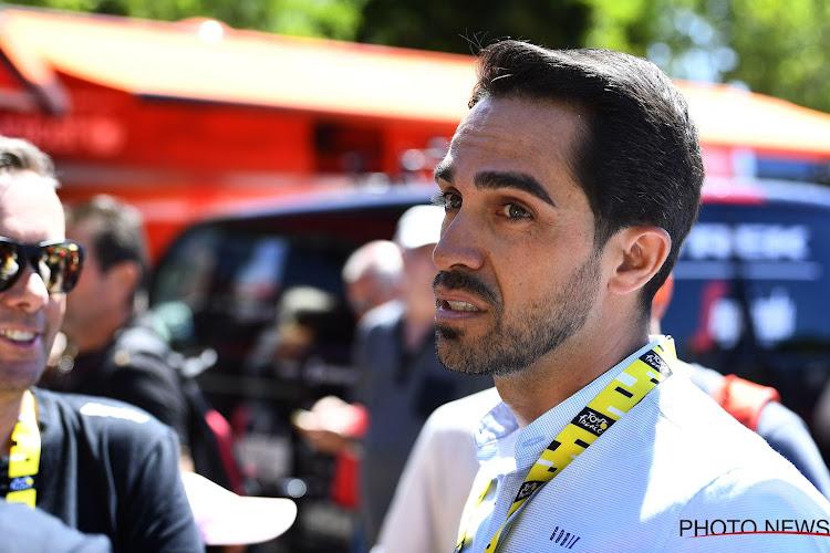 """Alberto Contador ziet twee mogelijkheden na de crisis: """"Ofwel gaat een ploeg helemaal kopje onder, ofwel, ..."""""""
