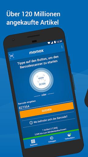momox u2013 Bu00fccher, CD, DVD Ankauf 3.7.3 screenshots 1