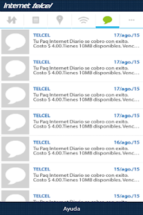 Consumo de Internet- screenshot thumbnail