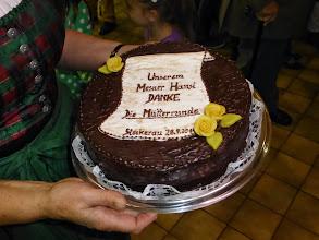 Photo: Eine Torte, ohne Worte.