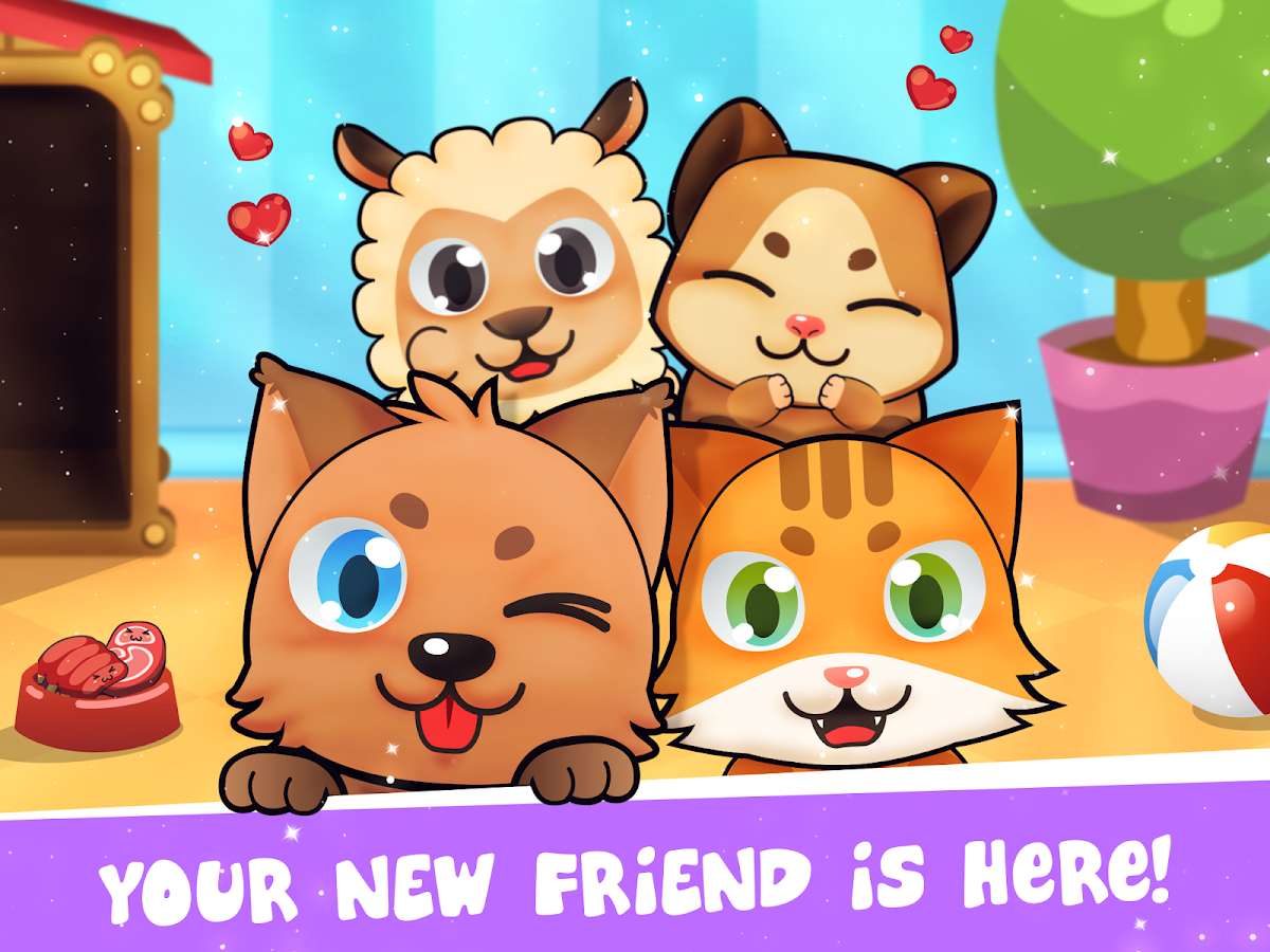 My Virtual Pet - Take Care of Cute Cats and Dogs- screenshot
