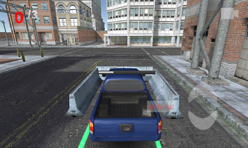 frontyard car parking 3d