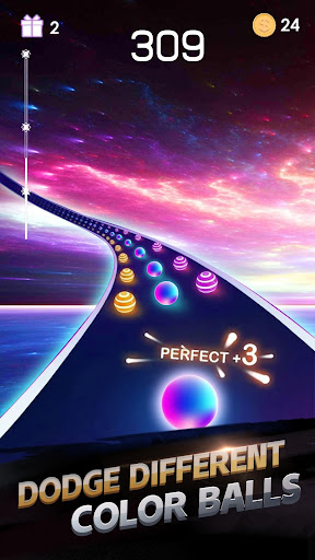 Télécharger gratuit Dancing Run - Color Ball Run APK MOD 1