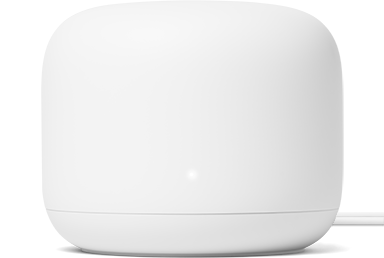Nest Wifi Router introduced in November 2019. This wifi router is designed with key features to help reduce its environmental impact.