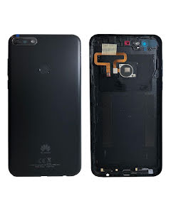 Y7 2018 Back Cover Original Black